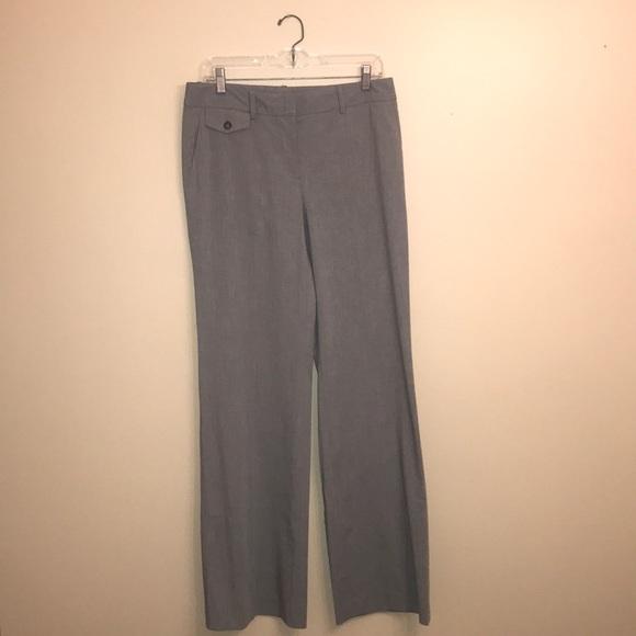 Club Monaco Pants - Club Monaco Grey Wide Leg Trousers (Size 6)